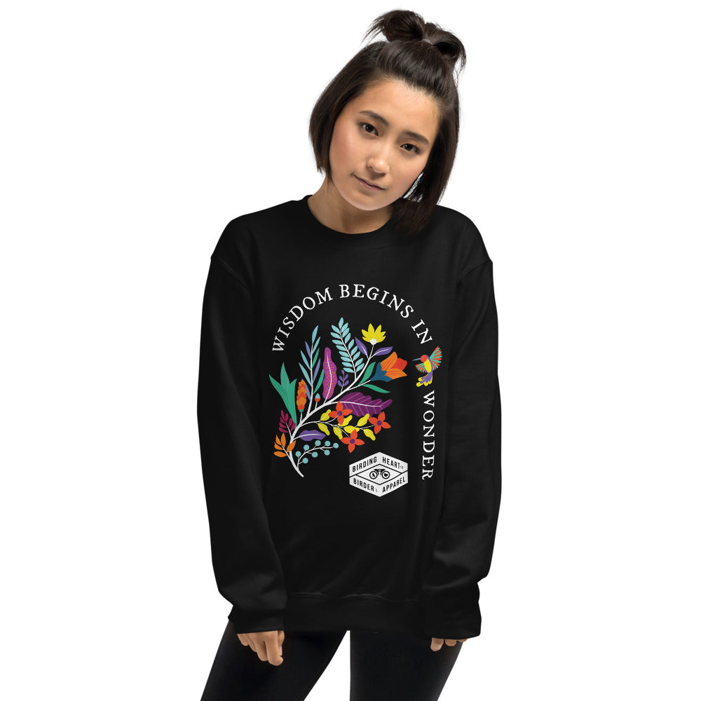 Wisdom & Wonder Dark Sweatshirt