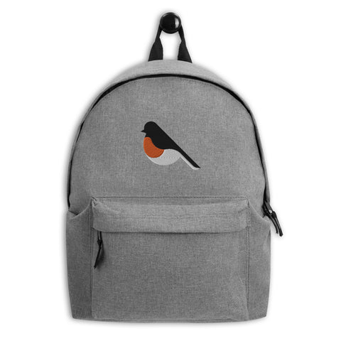 Robin Embroidered Backpack