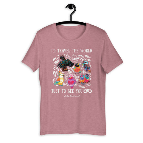 I'd Travel The World Tee