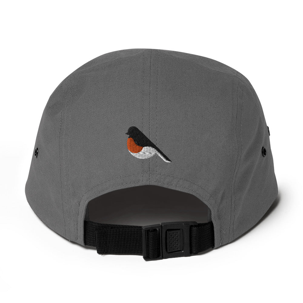 Birding Heart Five Panel Cap