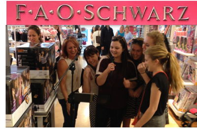 Singtrix USA Tour - FAO Schwarz