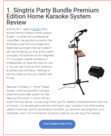 <em>Top 7 Reviews</em> - Best Karaoke Machine 2016