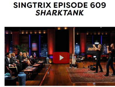 Singtrix Episode 609 <em>SharkTank</em>