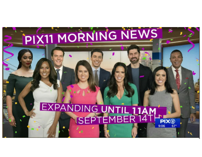 Singtrix on New York <em>WPIX 11 Morning News</em>!