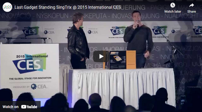 Last Gadget Standing SingTrix @ 2015 International CES