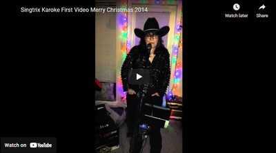 Singtrix Karoke First Video Merry Christmas 2014 To Family & Friends