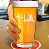 Comma La - Pint Glass