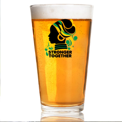 Stronger Together - Pint Glass