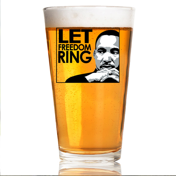 Let Freedom Ring in Color - Pint Glass