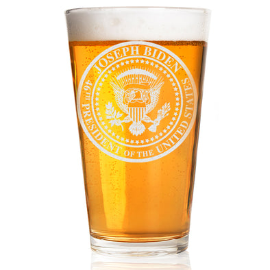 Biden Presidential Seal - Pint Glass