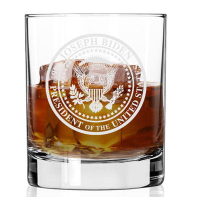 Commemorative Seal - Whiskey Glass