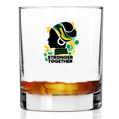 Stronger Together - Whiskey Glass