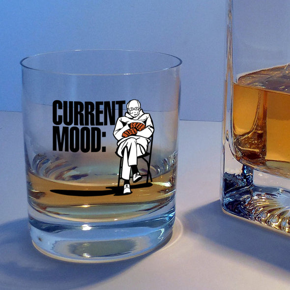 Current Mood Bernie - Whiskey Glass