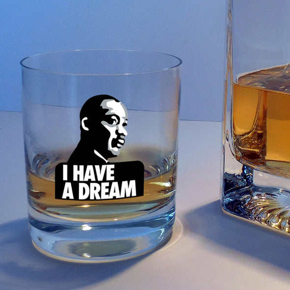 I Have a Dream in Color - Whiskey Glass