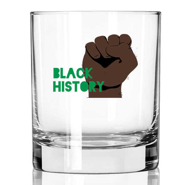 Black History Fist - Whiskey Glass