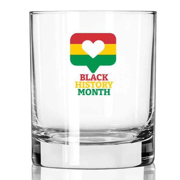 Black History Month Bubble - Whiskey Glass
