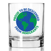 Proud to be Descended from Immigrants - Whiskey Glass