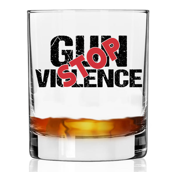 Stop Gun Violence - Whiskey Glass