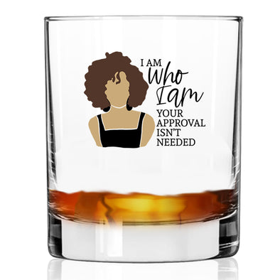 I Am Who I Am - Whiskey Glass