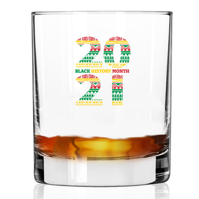 Black History Month 2021 - Whiskey Glass