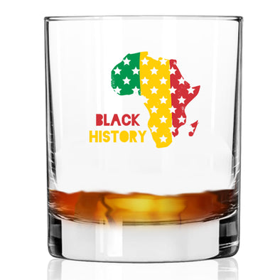 Black History Africa - Whiskey Glass