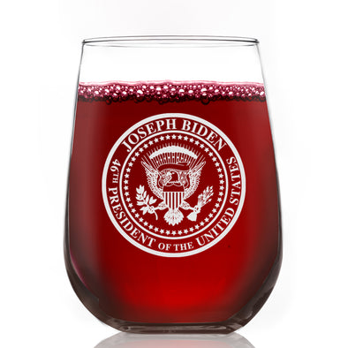 Commemorative Seal - Wine Glass