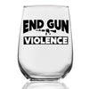 End Gun Violence - Wine Glass
