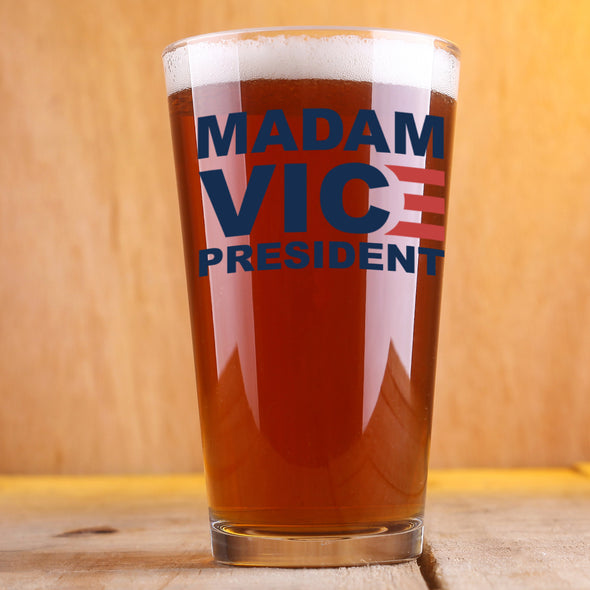 Madam Vice President - Pint Glass