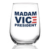 Madam Vice President - Wine Glass
