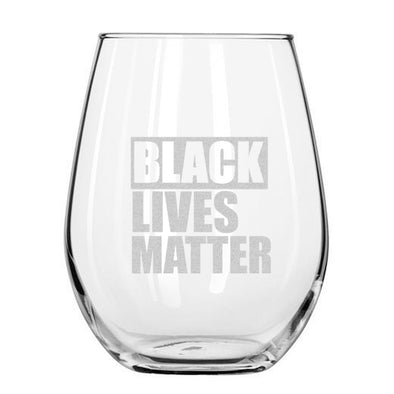 Black Lives Matter - Wine Glass