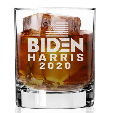 Biden Harris 2020 - Whiskey Glass