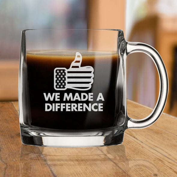 We Made a Difference - Nordic Mug