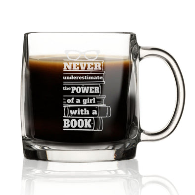 Power of a Girl with a Book - Nordic Mug