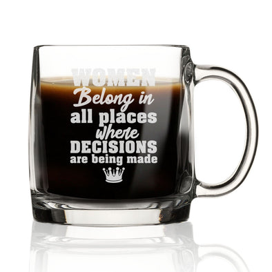 Women Belong Where Decisions are Made - Nordic Mug