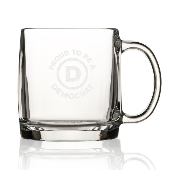 Proud to Be a Democrat - Letter D - Nordic Mug