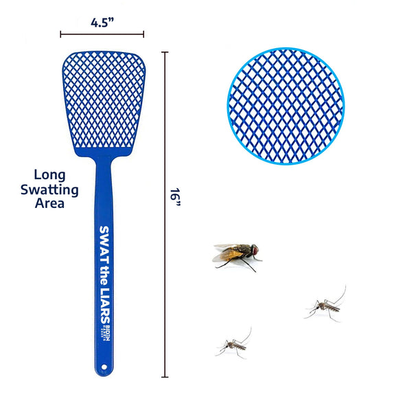 Swat the Liars Fly Swatter