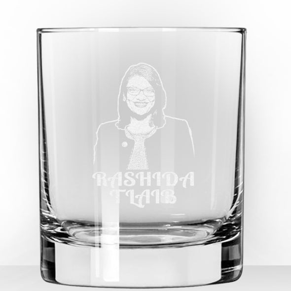 Rashida Tlaib - Whiskey Glass