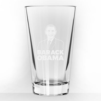 Barack Obama - Pint Glass