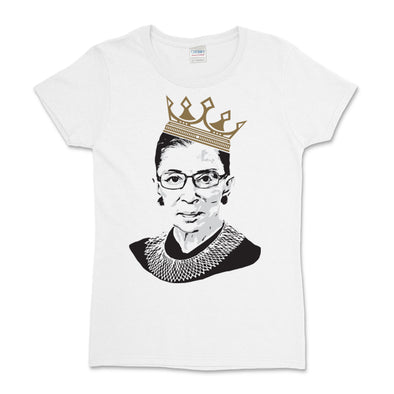 RBG Crown 100% Cotton Women's Fit Tee Shirt