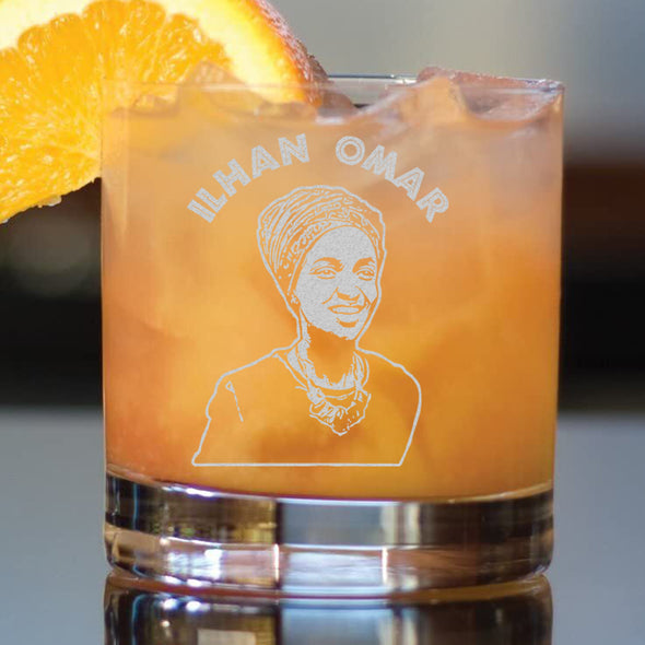 Ilhan Omar - Whiskey Glass