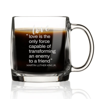Love is the Only Force Capable of Transforming and Enemy - Nordic Mug