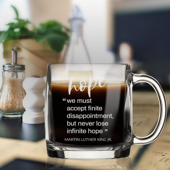 Hope - We must accept finite disappointment - Nordic Mug