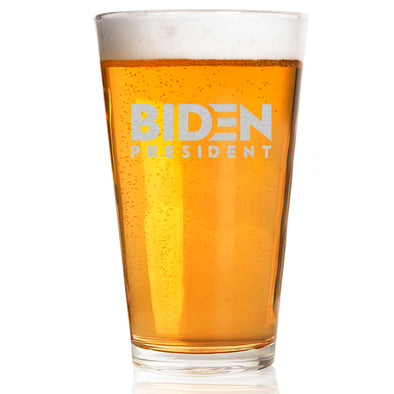 Biden President - Pint Glass