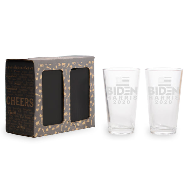 Biden Harris 2020 - 2 and 4 Pack Pint Glasses