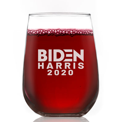 Biden Harris 2020 Standard - Wine Glass