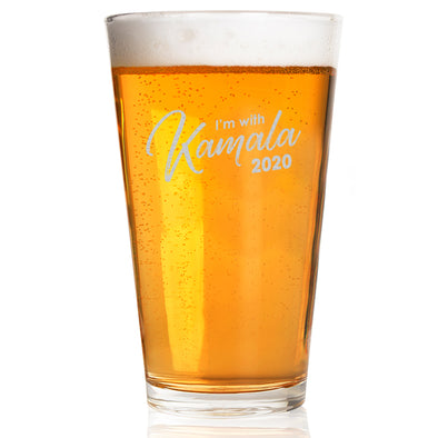 I'm With Kamala 2020 - Pint Glass