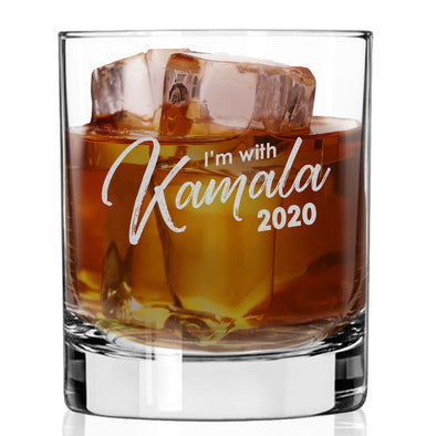 I'm With Kamala 2020 - Whiskey Glass