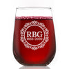 RBG 1933-2020 - Wine Glass