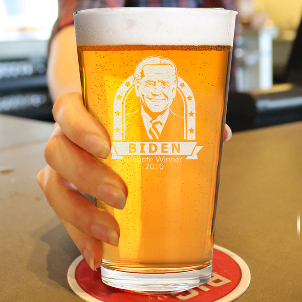 Biden Debate Winner- Pint Glass