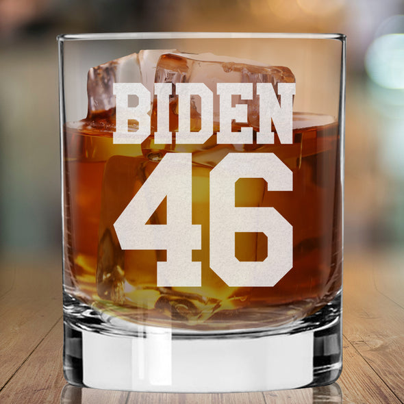 Biden 46 - Whiskey Glass